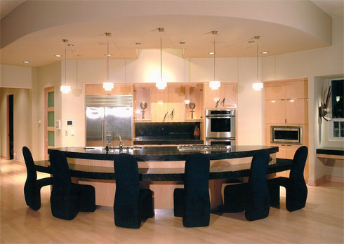 Modern contemporary style kitchen great room design ideas for Great room kitchen ideas